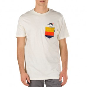 Vans Sun Set Pocket T-Shirt - Turtle Dove