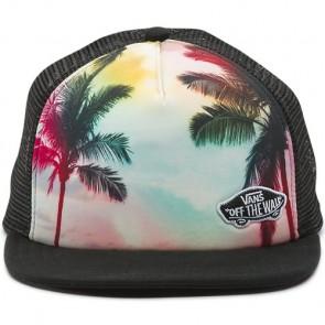Vans Women's Beach Bound Trucker Hat - Sunset Palms