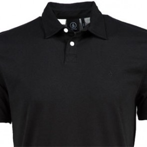 Volcom Wowzer Polo Shirt - Black