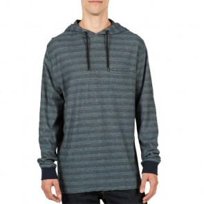 Volcom Alden Hooded Top - Airforce Blue