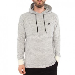 Volcom Bonus Long Sleeve Hooded Top - Cloud