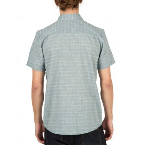 Volcom Thurston Short Sleeve Shirt - Ash Blue