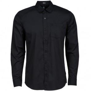 Volcom Everett Solid Long Sleeve Shirt - Black