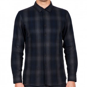 Volcom Shuttle Long Sleeve Flannel - Stealth