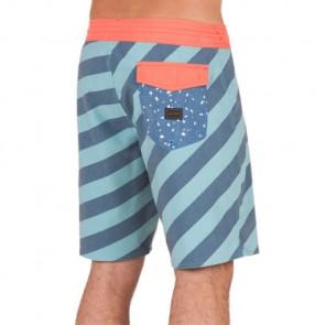 Volcom Stripey Stoneys Boardshorts - Sea Blue