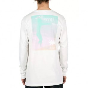 Volcom Zombie Ozzy Long Sleeve Top - White