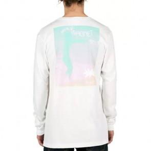 Volcom Zombie Ozzy Long Sleeve Top - White