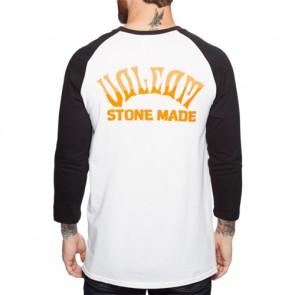 Volcom Wrecker Raglan Top - White