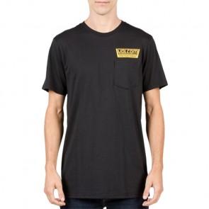 Volcom Truckin Pocket T-Shirt - Black