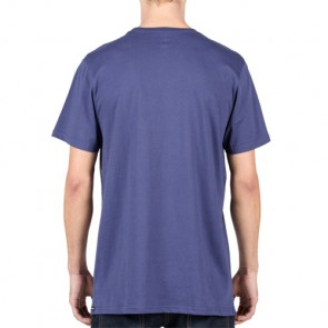 Volcom Truckin Pocket T-Shirt - Blue Plum