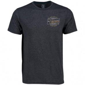 Volcom Smoovie T-Shirt - Heather Black