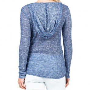 Volcom Women's Ready To Go V-Neck Sweater - Navy
