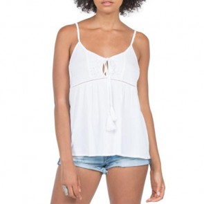 Volcom Women's Rockin Rad Cami Top - White