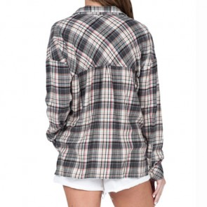 Volcom Women's Old N Goodie Flannel - Black