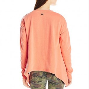 Volcom Women's Revolver Long Sleeve Top - Burnt Sienna