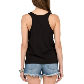 Volcom Women's Speed Up Ringer Tank - Black