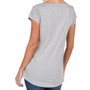 Volcom Women's Henna Spirit Rad T-Shirt - Heather Grey