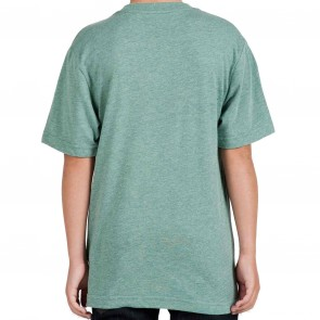 Volcom Youth Wax On T-Shirt  - Grass Green