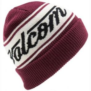 Volcom Full Sign Beanie - Merlot
