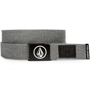 Volcom Circle Web Belt - Heather Grey