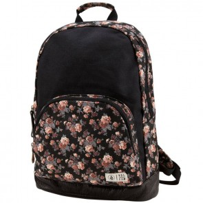 Volcom Women's Schoolyard Canvas Backpack - Black