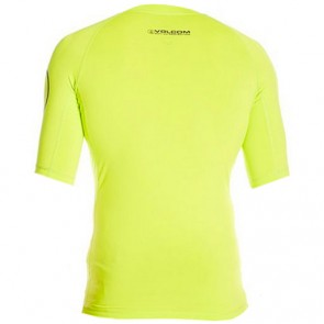 Volcom Solid Short Sleeve Rash Guard - Lime