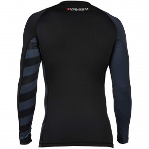 Volcom Change Up Long Sleeve Rash Guard - Charred