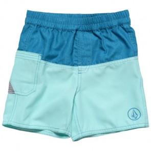 Volcom Youth Rascal Boardshorts - Bright Turquoise