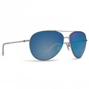 Von Zipper Women's Wingding Sunglasses - White Gloss/Sky Chrome