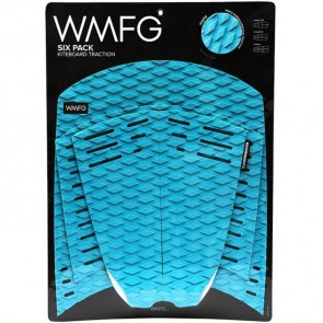 WMFG Six Pack Kiteboard Deck Pad - Teal/White