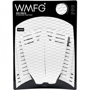 WMFG Six Pack Kiteboard Deck Pad - White/Black