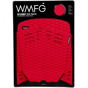 WMFG Stubby Six Pack Kiteboard Deck Pad - Red/Black