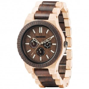 WeWood Kappa Watch - Choco Crema