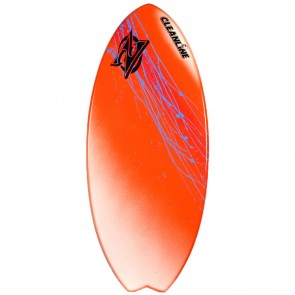 Zap Skimboards Fish Skimboard - Orange Fade