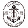 Cleanline Surf Anchor Sticker