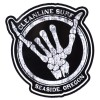 Cleanline Surf Shaka Bones Sticker