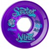 Sector 9 69mm 9-Balls Wheels - Purple