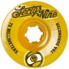 Sector 9 70mm 9-Balls Wheels - Yellow