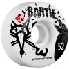 Bones 52mm STF Pro Bartie Crow Wheels - White