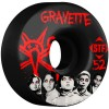 Bones 52mm STF Pro Gravette Seed Wheels - Black