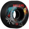 Bones 51mm STF Pro Sierra Roost Wheels - Black