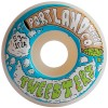 Portland Wheel Co. 53mm Tweesters Wheels - White