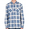 Volcom Booker Long Sleeve Flannel - Navy