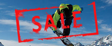 Sale Snowboarding Gear