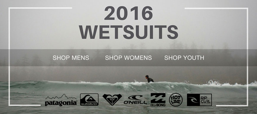 2016 Winter Wetsuits