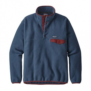 Patagonia Lightweight Synchilla Snap-T Fleece Pullover - Stone Blue