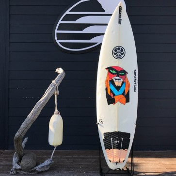 Arakawa  GX  6'3 x 19 x 2.5 30L Used Surfboard - Top
