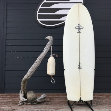 "Infinity Surfboards Tombstone V2 5'6 x 21 1/2"" x 2 5/8"" Used Surfboard - Top"