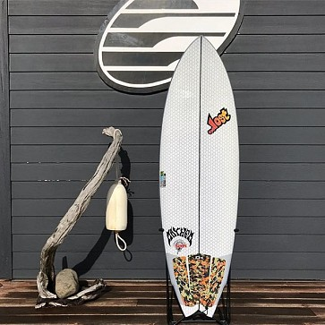 Lib Tech Round Nose Fish Used Surfboard 5'6 x 19 1/2 x 2 3/4 - Top