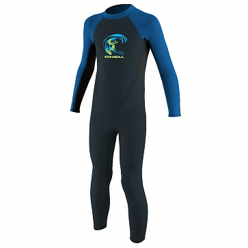 O'Neill Toddler Reactor II 2mm Wetsuit - Slate/Black/Ocean